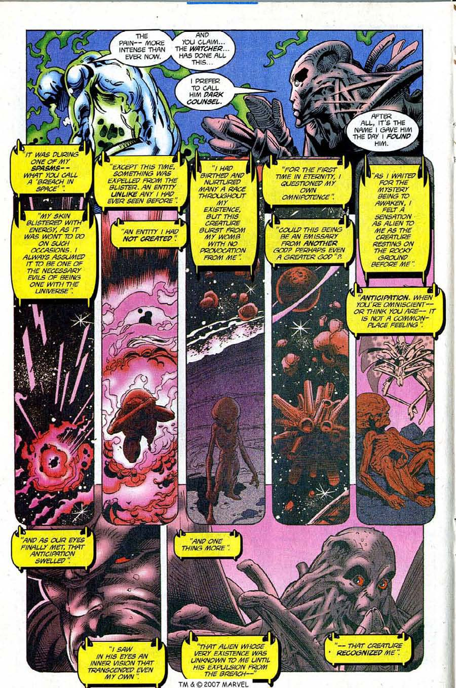 Read online Silver Surfer (1987) comic -  Issue #121 - 16