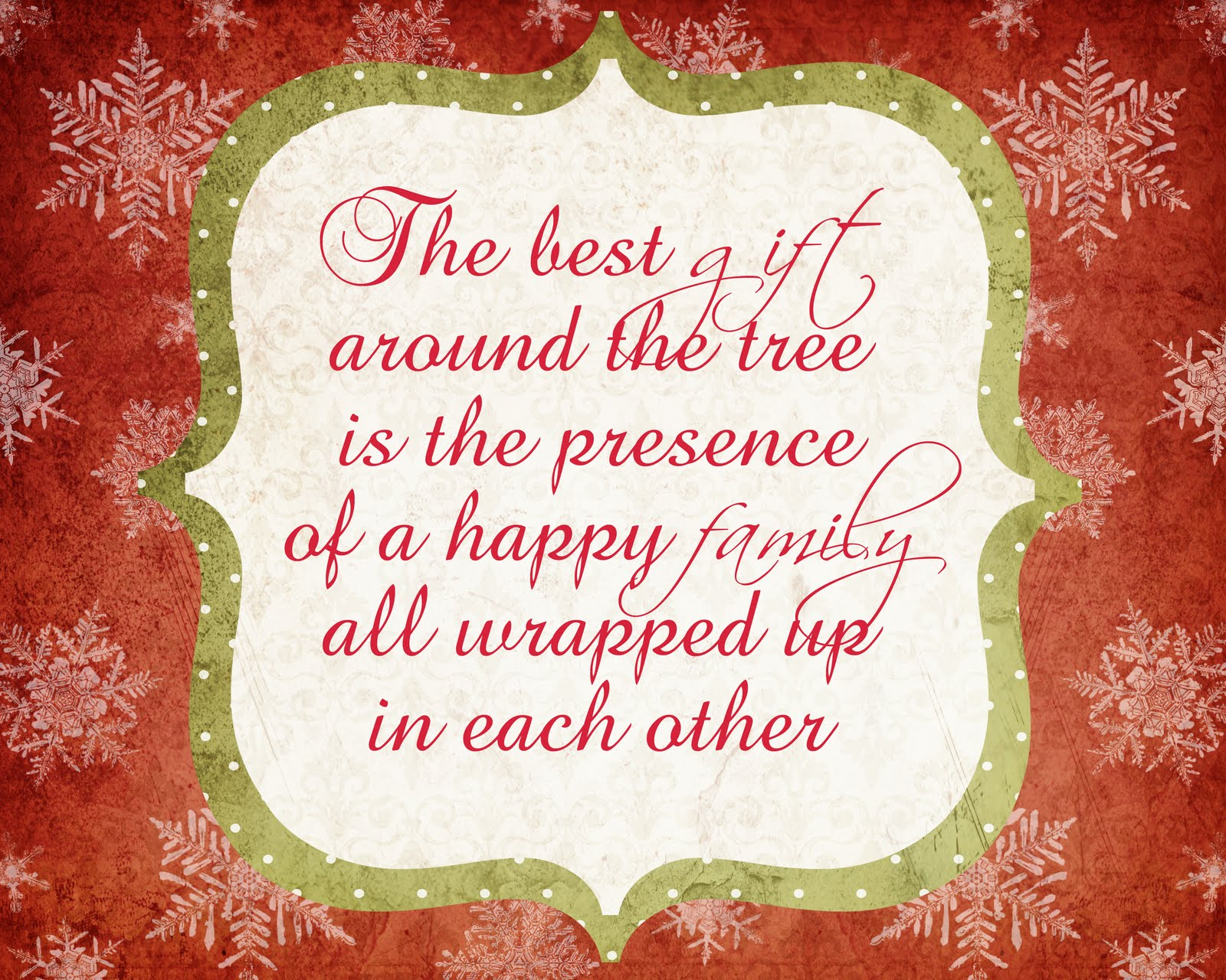 Christmas Quotes And Graphics: A Pocket Full Of LDS Prints: Christmas Scripture Print