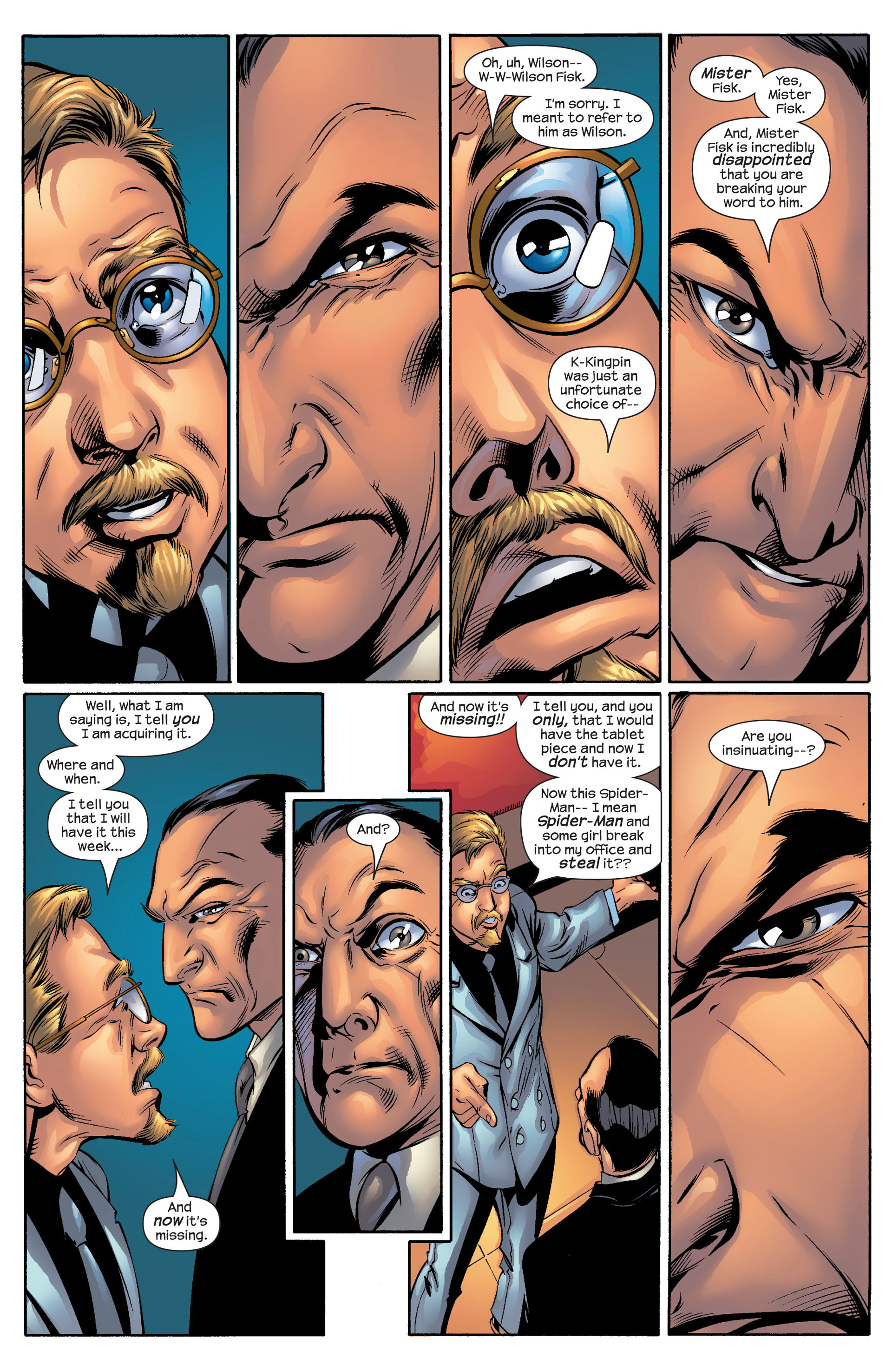 Read online Ultimate Spider-Man (2000) comic -  Issue #51 - 5