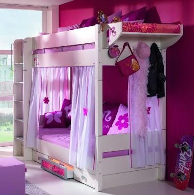 Dise o de habitaciones de barbie para ni as infantil decora for Disenos de cuartos para ninas sencillos