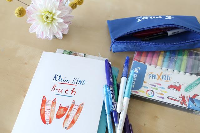 Kleinkindbuch Gretas Schwester Kindheitserinnerungen Momente festhalten mit PILOT FriXion Stiften Jules kleines Freudenhaus