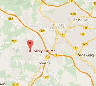 Aunty Tartlets, Qiya, Qiya Saad, restoran