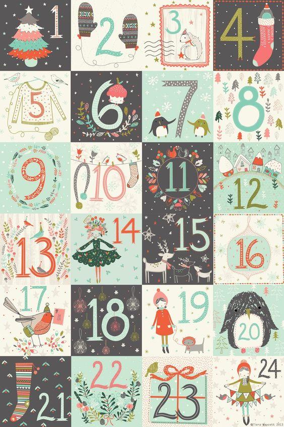 Numeri Per Calendario Avvento.Giocabosco Creare Con Gnomi E Fate Calendari Dell Avvento