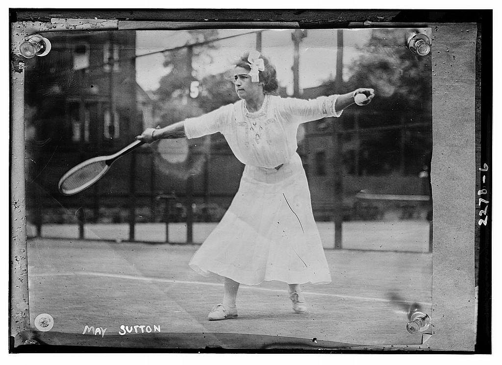 Beautiful Vintage Tennis Style From Between 1900s And