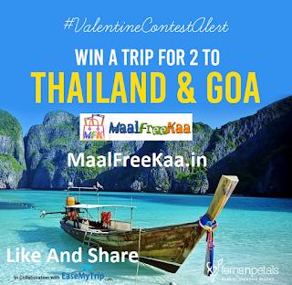 Free Trip Thailand And Goa