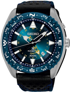Seiko SUN059P1 Prospex Kinetic GMT Blue 46mm 100M