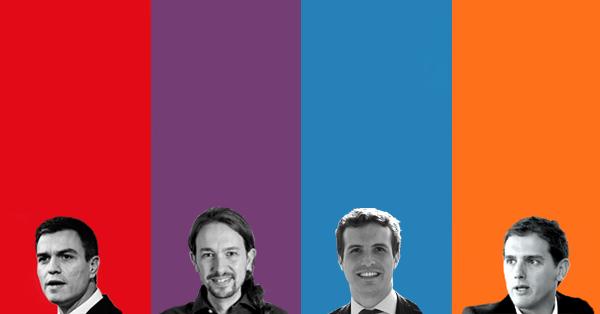 Intervenciones de los principales candidatos a la presidencia del Gobierno