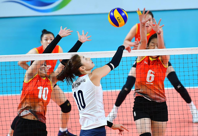 ĐTQG nữ thua trận thứ 3 ở Asian Games 2018