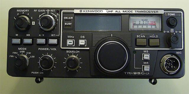 Kenwood TR-9500 Mobile UHF Amateur Radio