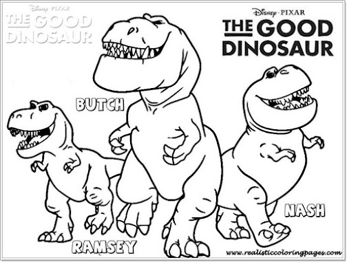 Mewarnai Coloring The Good Dinosaur Printable Coloring Pages