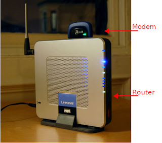 Modem and Router 2 in 1