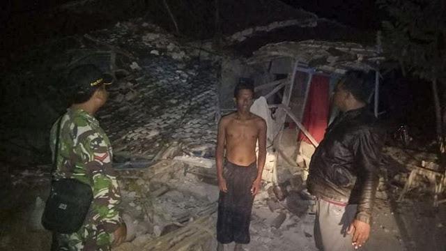 Mimih…Panik Gempa Situbondo, Ibu-Ibu Lari Keluar Rumah Tanpa Baju
