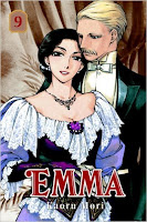 Emma Volume 9 by Kaoru Mori, published by CMX Manga.