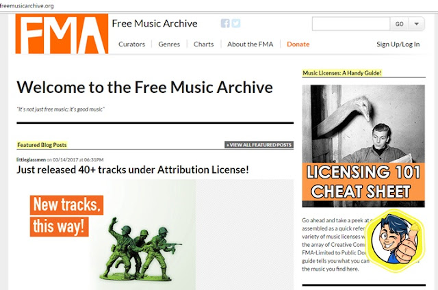 free archive music download