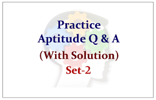 Practice Aptitude Questions for Upcoming Bank PO and Clerk Exam 2015 Set-2