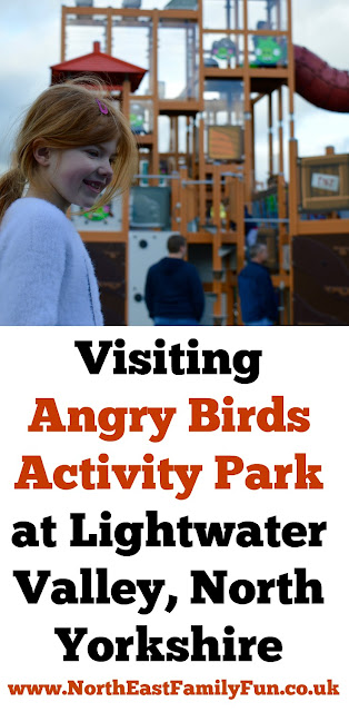 Visiting Angry Birds Activity Park at Lightwater Valley, North Yorkshire