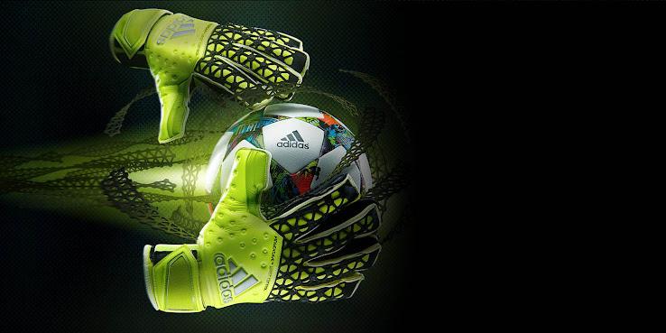 Adidas Goalkeeper Gloves Fingersave Allround Adidas Ace Zones 2015-...