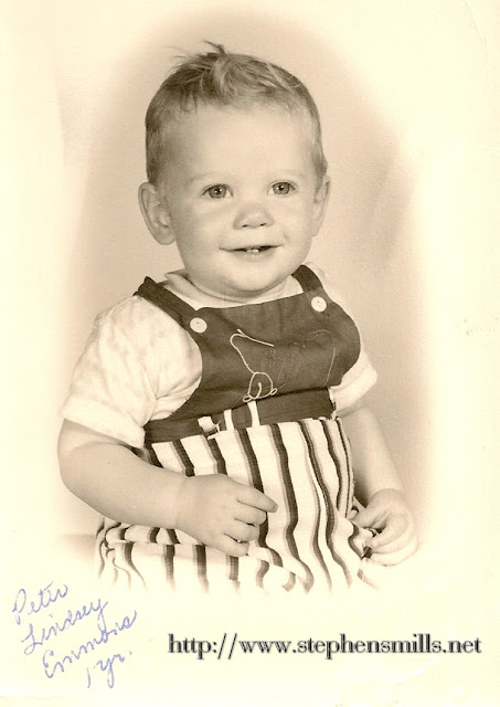 Peter Lindsey Emmons   Born 7/7/1958 in Norway, Maine  Died 10/26/1978 in Kirby, Caledonia, Vermont  Son of Walter Scott Emmons II  and brother of Jerrold Scott Emmons  Photo of Peter Emmons at 1 year old in 1959