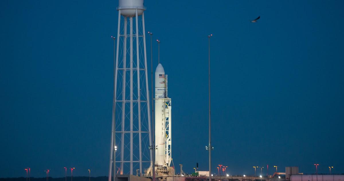 Orb-5, questa notte il lancio di Antares per la missione di riforimento alla Stazione Spaziale Internazionale, diretta video