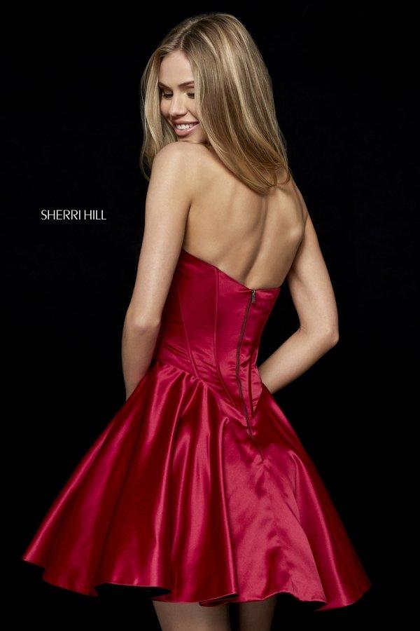 ec12c1fd7c ... Prom Dresses Sherri Hill. Shown in  Gunmetal - Gunmetal Sherri Hill  52197