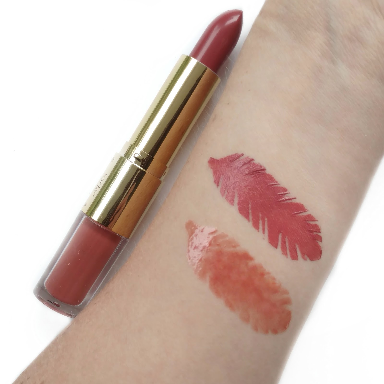 tarte lip sculptor in sass swatches