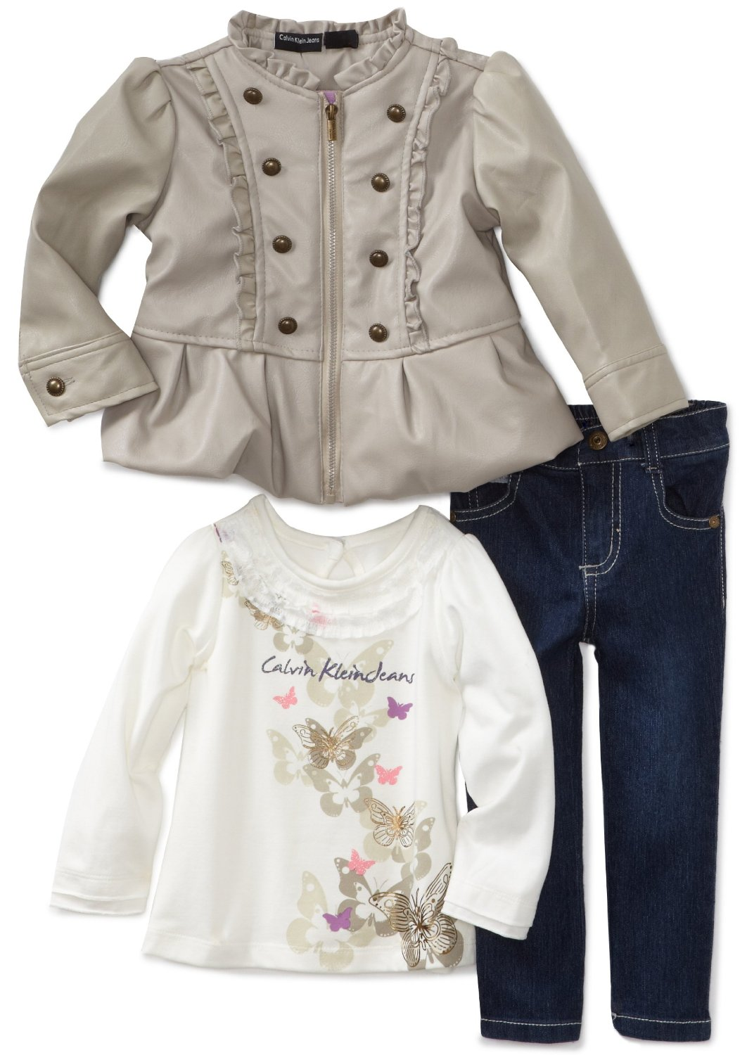 153e72f42 BABY CLOTHES: Reviews of Calvin Klein Baby-girls Infant 3 Piece ...
