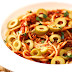 Spanish Spaghetti with Have an Olive Day