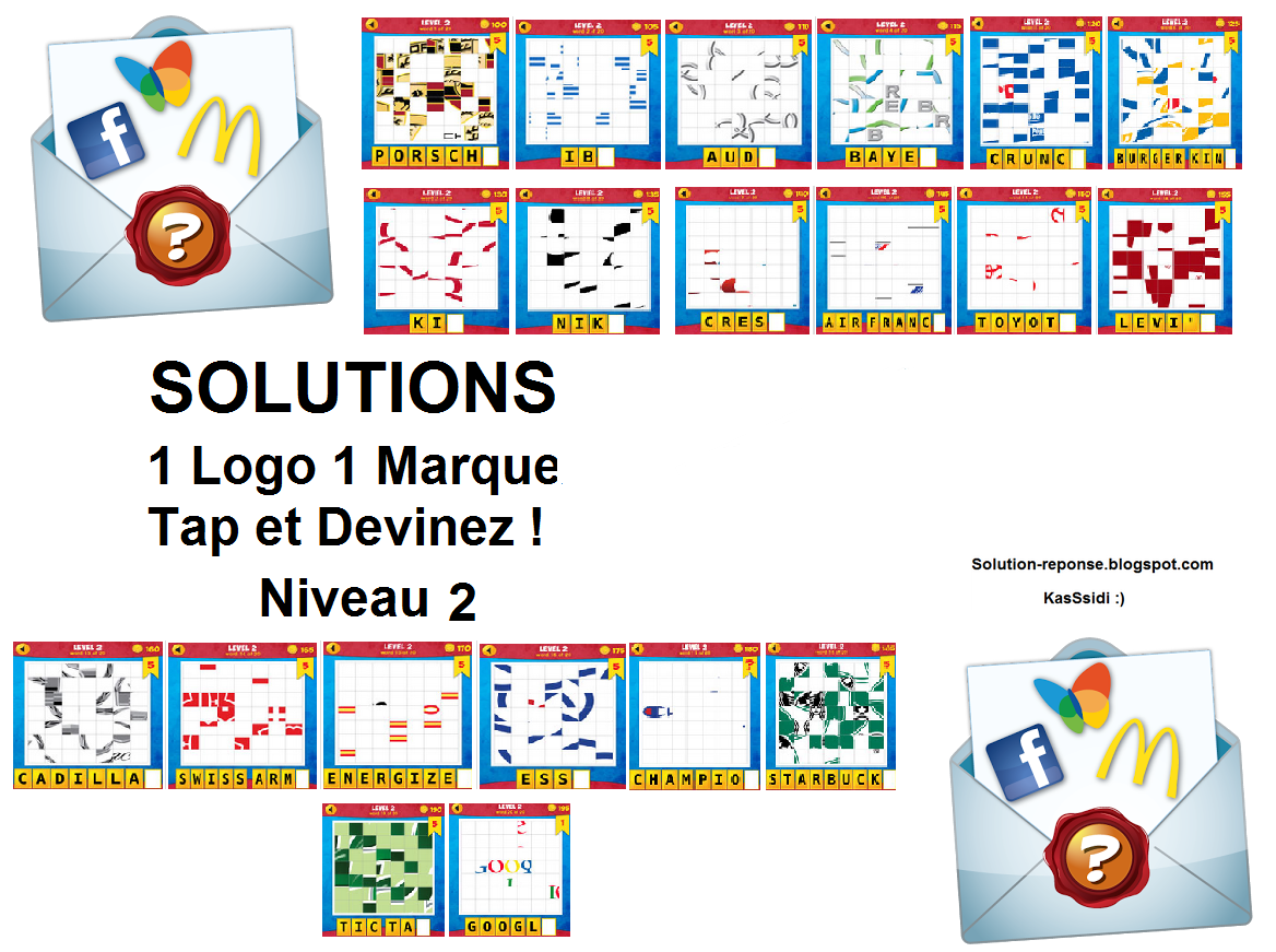 solution 1 logo 1 marque quiz niveau 2 toutes les solutions r ponses des jeux android iphone. Black Bedroom Furniture Sets. Home Design Ideas