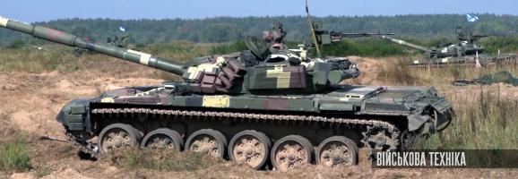 навчання танкової бригади Корпусу резерву