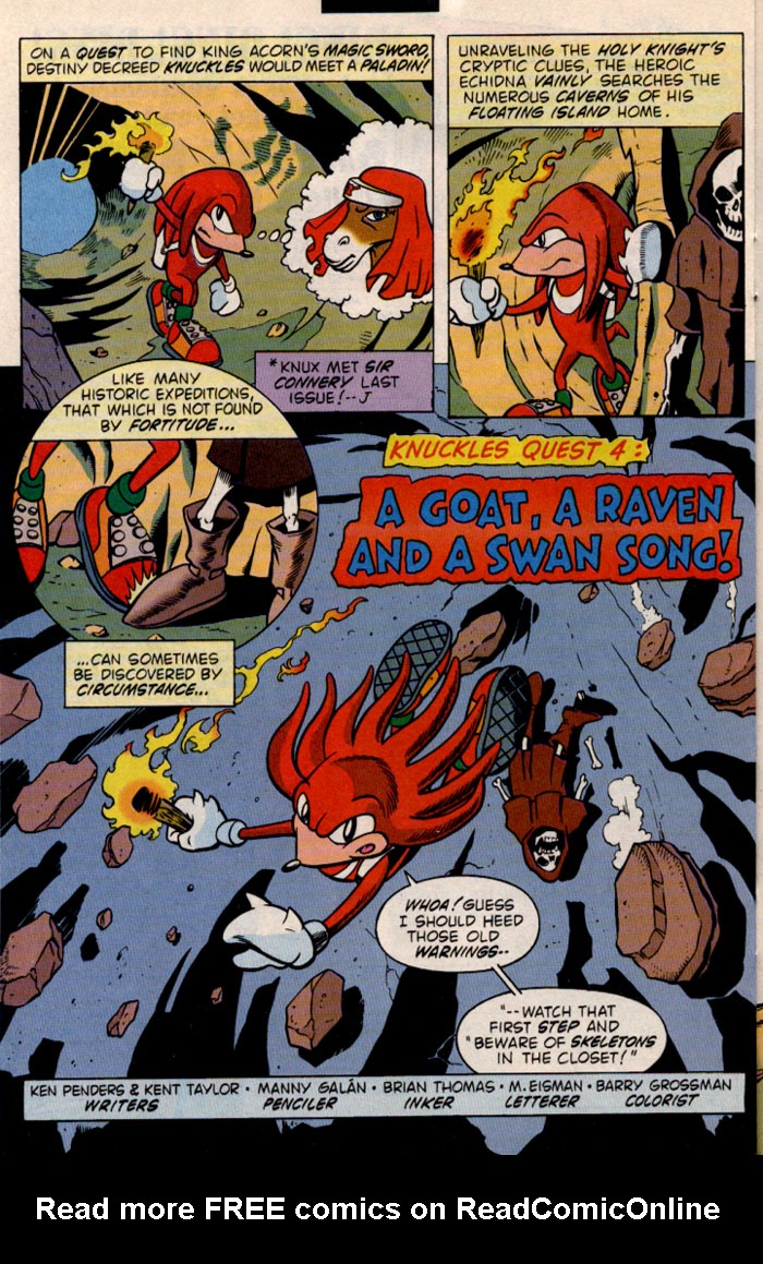 Read online Sonic The Hedgehog comic -  Issue #46 - 20