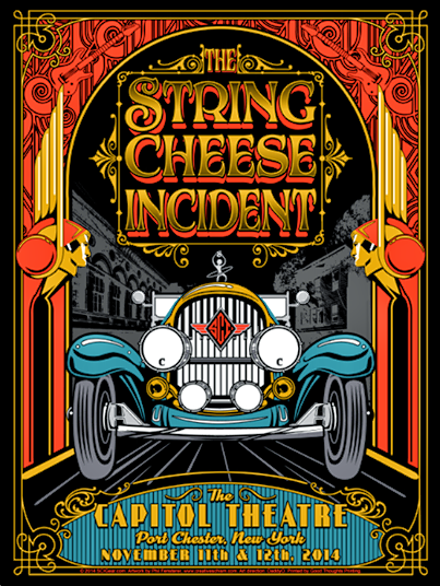 Review and Photos: The String Cheese Incident - The Capitol Theatre - 11/12/14
