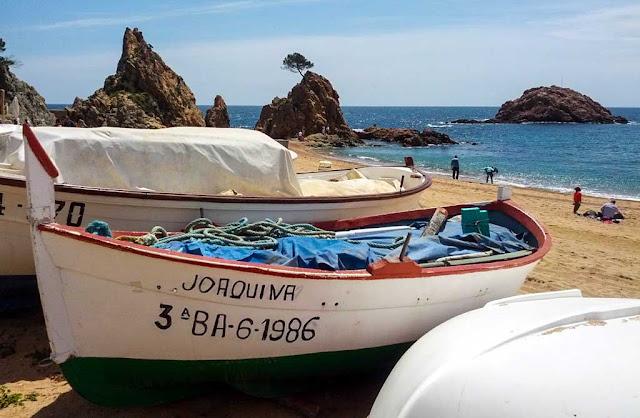 Barcos Tossa de Mar