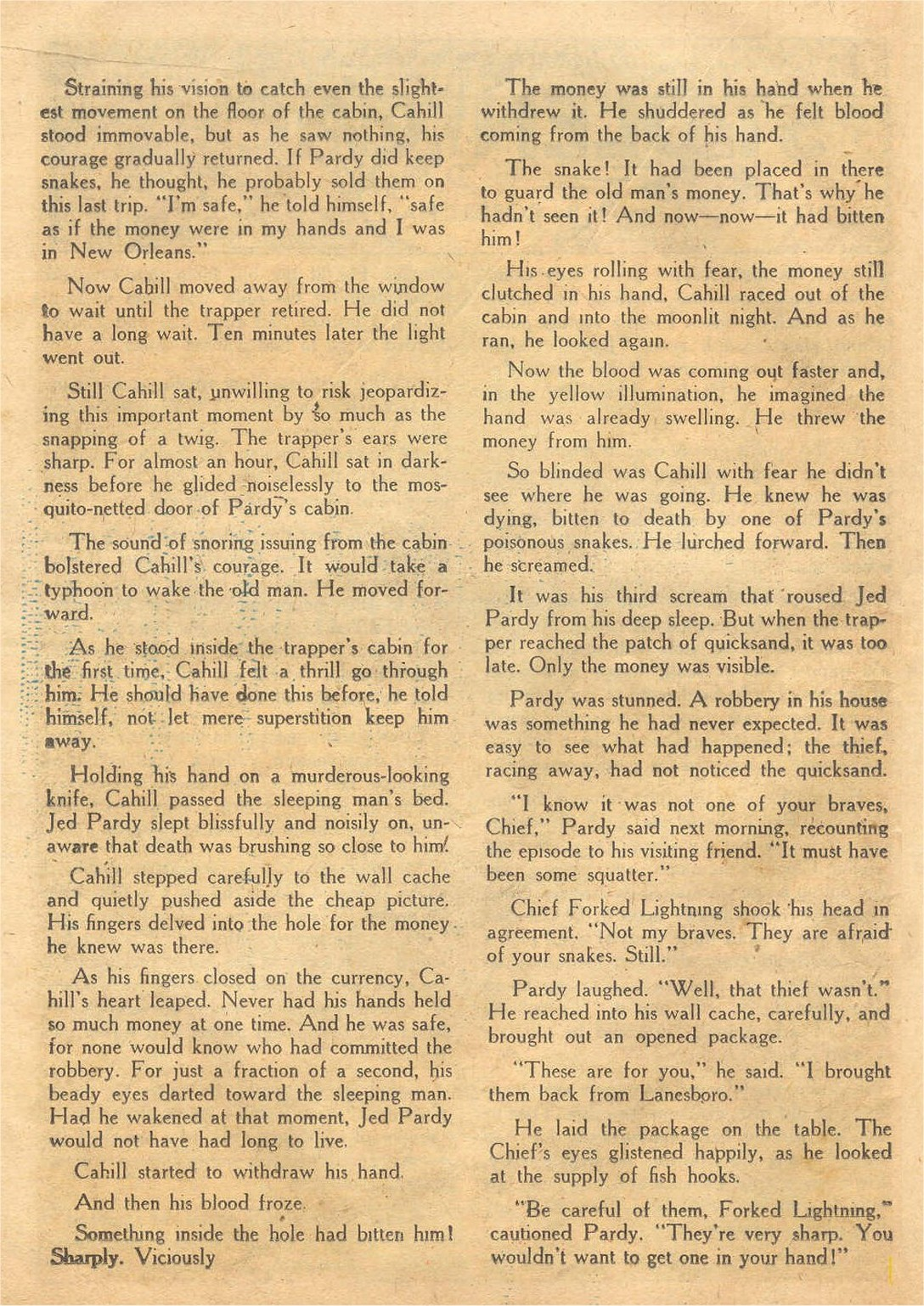 Read online Detective Comics (1937) comic -  Issue #132 - 36