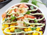 Recipes Lime Shrimp Quinoa Bowls Cilantro Lime Quinoa