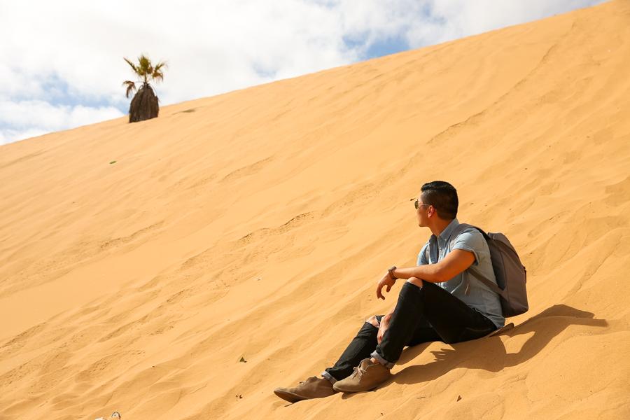 Levitate Style, Clarks Desert Boots, Clarks, Namibia, Travel, Leo Chan, Alicia Mara, menswear, Dune 7, Namib Desert