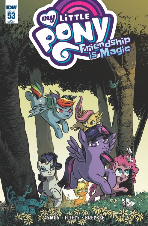 Mlp Friendship Is Magic Issue 53 Comic Covers Mlp Merch