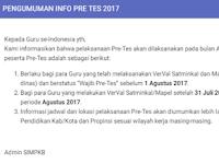 Jadwal Pretest SIM PKB  Tahun 2017
