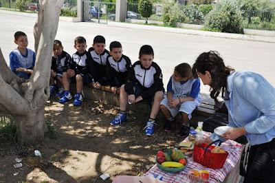 Διατροφική και διατροφολογική υποστήριξη στους αθλητές του Chania B.C. από την Μαρία Λαντζάκη
