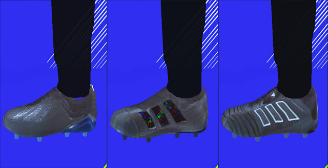 Adidas Shadow Mode Boots Pack 2018/19 - PES PSP (PPSSPP)