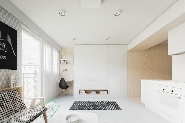 Gợi ý cách thiết kế nội thất chung cư nhỏ 3
