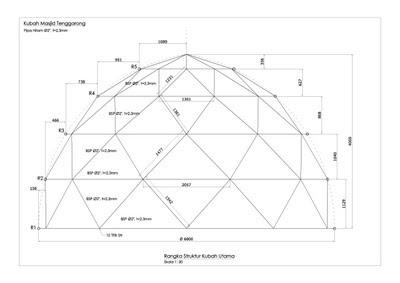 kubah masjid, kontraktor, enamel, atap, desain