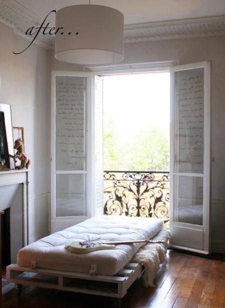 Blog de decorar 20 camas feitas do maravilhoso pallet for Bases de cama hechas con tarimas
