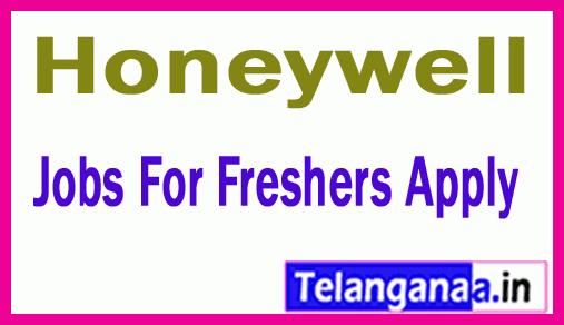 Honeywell Recruitment Jobs For Freshers Apply