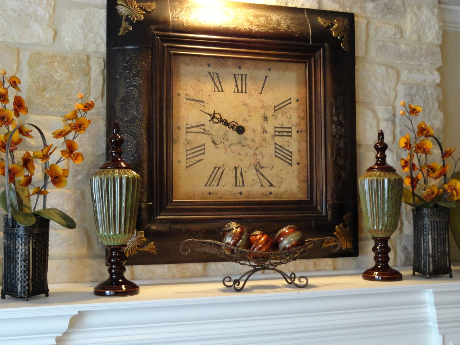 Our Home Away From Home: DECORATING YOUR MANTLE on Kirkland's Home Decor id=74676