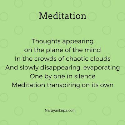 Poem: Meditation