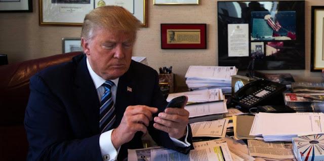 دونالد ترامب غير قلق من إختراق هاتفه ويتبادل رقم الهاتف مع رؤساء الدول