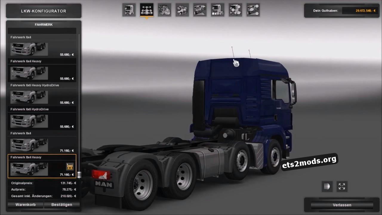 Truck - MAN TGS V 1.2