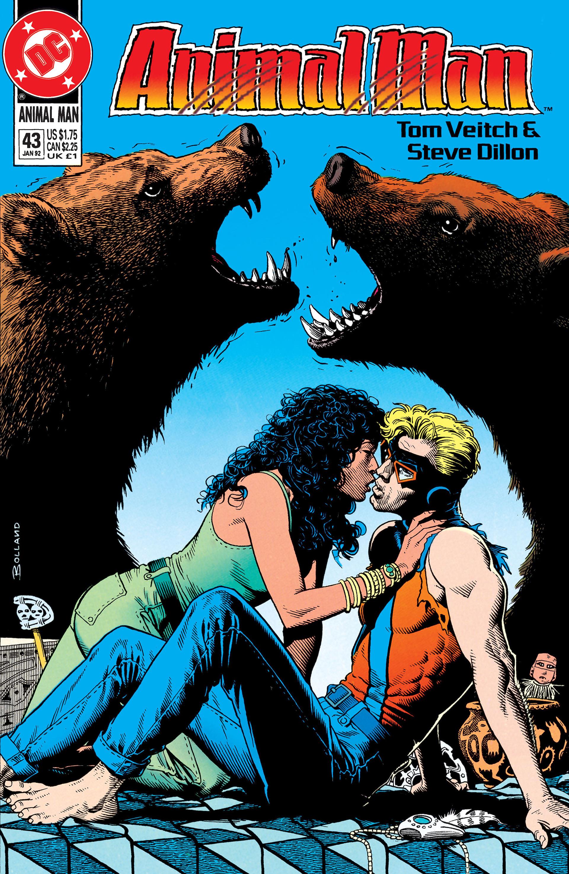Read online Animal Man (1988) comic -  Issue #43 - 1