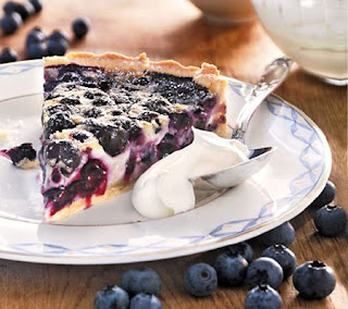 Restaurant Blueberry pie recipe