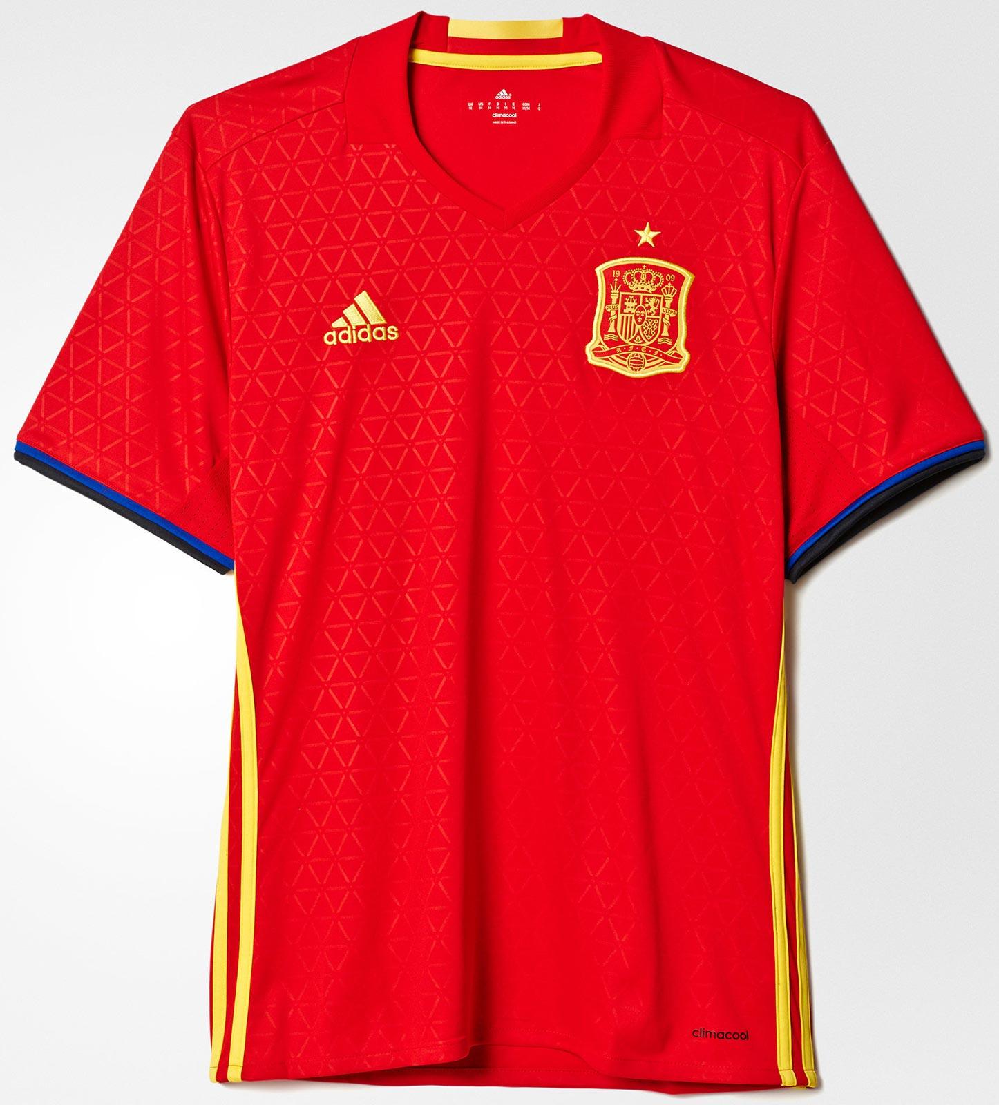 f426d836a84 Equipacion De Futbol Baratas  España Euro 2016 Kits